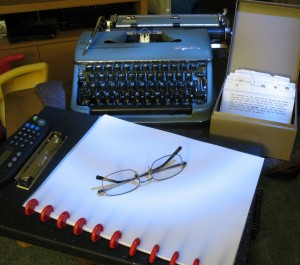 NaNoWriMo: the home front
